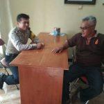 Anggota Bhabin Polsek Junrejo Polres Batu Melaksanakan Kegiatan sambang Dengan 3 pilar