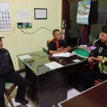 Dalam Rangka Peningkatan Pengamanan Swakarsa Anggota Bhabin Polsek Batu Kota Polres Batu Sambangi Satpam