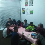Door To Door System Anggota Bhabinkamtibmas Polsek Bumiaji Polres Batu Dalam Rangka Bina Forum Anak Desa Bumiaji