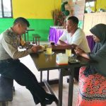 Bhabinkamtibmas Pendem Polsek Junrejo Polres Batu Silaturahmi Kunjungan Pada Tokoh Masyarakat
