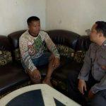 Lakukan Anjangsana, Satgas Kemitraan Bhabin Desa Oro Oro Ombo Polsek Batu Kota Sampaikan Pesan Kamtibmas