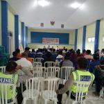 Tatap Muka dan Harkamtibmas,Bhabin Polsek Pujon Polres Batu Menghadiri KEgiatan Musyawarah Warga Desa Tawangsari