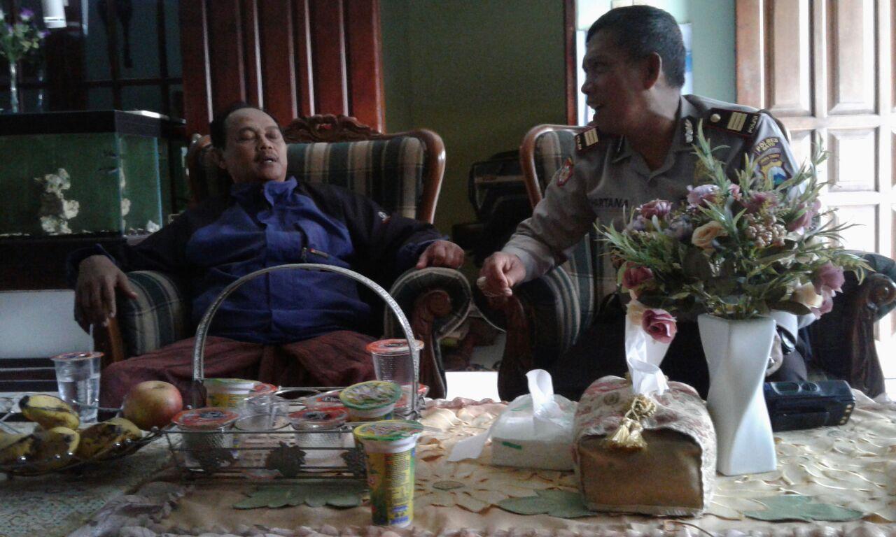 Langkah Preemtif Polri di Wilayah Binaannya, Polsek Junrejo Polres Batu lakukan Kunjungan Ke Tokoh Agama