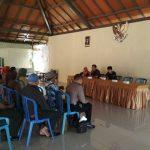 Babin Desa Pendem Polsek Junrejo Polres Batu Hadiri Kegiatan Koordinasi Persiapan Verifikasi Lapangan Desa Berseri