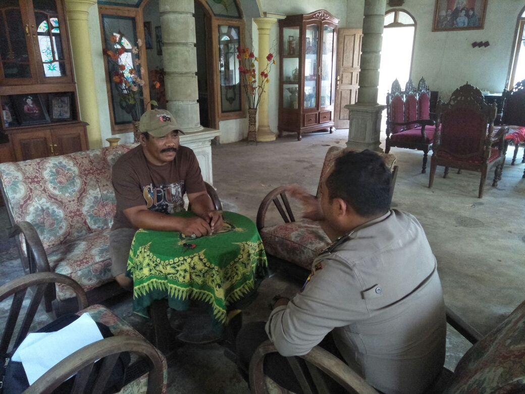 Giat Sambangin Bhabin Desa Bayem Polsek Kasembon Polres Batu Kepada Tomas