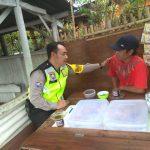 Upaya Kerjasama Dengan Masyarakat, POLSEK BATU KOTA POLRES BATU SAMBANG KUNJUNG UKM