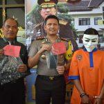 Polres Batu Melaksanakan Press Release Ungkap kasus Pencurian dan Hasil Tangkapan Miras