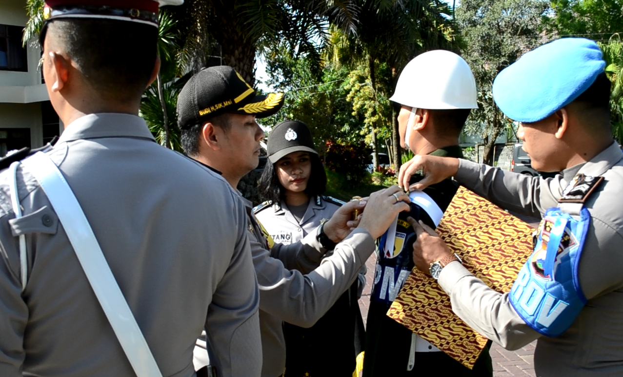Kapolres Batu Pimpin Apel Gelar Pasukan Ops Patuh Semeru 2018