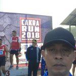 Kompol Agus Eko Mewakili Kapolres Batu Dalam Acara CAKRA RUN 2018