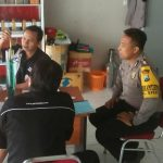 Kunjungan Anggota Bhabinkamtibmas ke Obyek Vital dalam rangka menjaga keamanan Wilayah