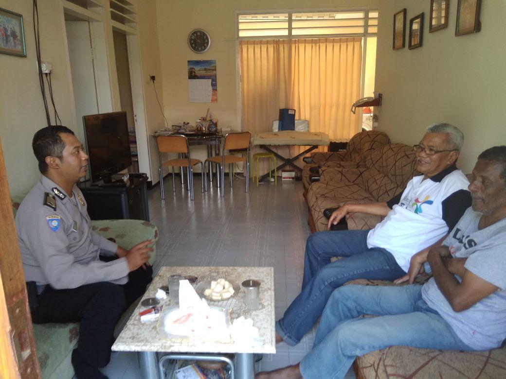 Langkah Preemtif Polri  Jalin Mitra Dengan Warga Binaan, Polsek Batu Polres batu Sambang Sosialisasi Dengan Warga Binaanya