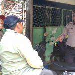 Patroli Tatap Muka, Anggota Polsek batu Polres Batu Berikan Situasi Kondusif
