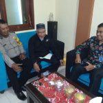 Bhabin Polsek batu Polres Batu Bersilaturohmi dengan Ketua Dewan masjid Wilayah Batu