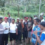 Sambang Masyarakat Desa Hutan Klemuk Tiga Pilar bersama Bhabin polsek Batu Polres Batu