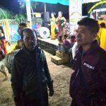 Bhabin Polsek Junrejo Polres Batu Melaksanakan Pengamanan Giat Masyarakat Kuda Lumping