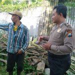 Bhabin Polsek Batu Polres Batu Door To Door System Kunjung Warga Masyarakat