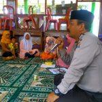 Anggota Bhabin Kelurahan Temas Polsek Batu Polres Batu Mengunjungi Tempat Perusahaan Elpiji