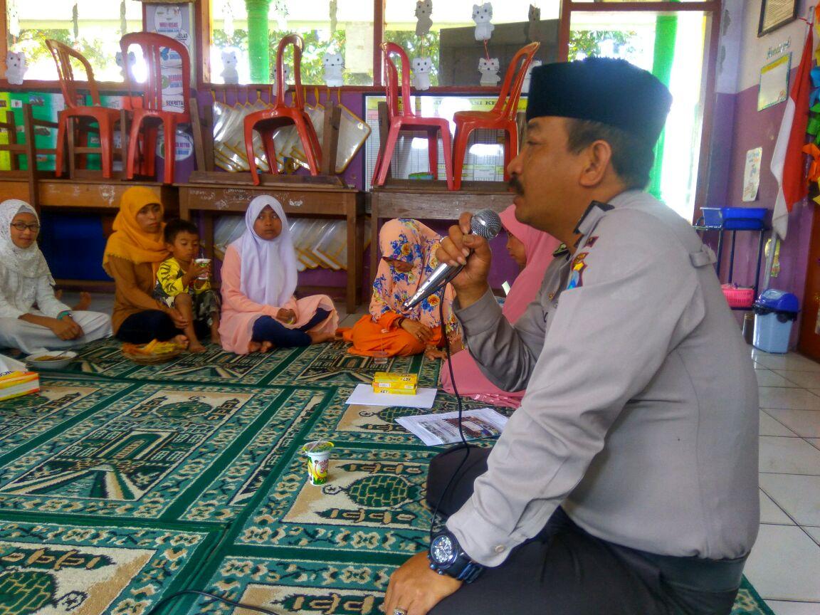 Bhabin Polsek Batu Satgas Kemitraan Sambang Ke PT.Lancar Jaya Gas LPG 3 KG Guna Antisipasi Kelangkaan
