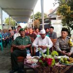 Bhabinkamtibmas desa Pendem Polsek Junrejo Polres Batu hadiri pengajian umum dalam rangka jelang bulan suci Ramadhan 1439/2018 M