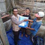 Pemberdayaan Masyarakat Bhabin Kelurahan Songgokerto Polsek Batu Kota Polres Batu Berdayakan Warga Buat Kolam Lele Dalam Terpal