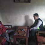 Bhabinkamtibmas Polsek Pujon Polres Batu Sambang (DDS) Kepada Tokoh Masyarakat Desa Wiyurejo