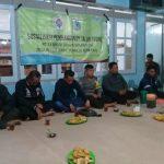 Bhabin Polsek Junrejo Polres Batu Sosialisasi Pembangunan Paving