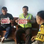 Polsek Kasembon Polres Batu kunjungi Warga Sampaikan Pesan Kamtibmas Dan Sosialisasi Call Center 110