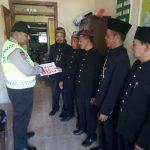 Bhabin Desa Pait Polsek Kasembon Polres Batu Sambang Desa Sosialisasi layanan 110