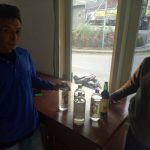 Polsek Ngantang Polres Batu melaksanakan Razia Miras