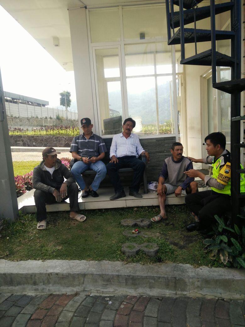 Kunjungan Tokoh Masyarakat Bhabin Polsek Batu Polres Batu