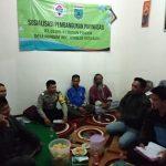 Sosialisasi Pembangunan Jalan Paving Yang DihadiriBhabin Desa Pendem Polsek Junrejo Polres Batu Guna Menjalin Kedekatan Dengan masyarakat desa Binaannya