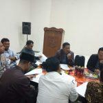 Membangun kemajuan di bidang pembangunan Bhabin Polres Batu Mengadiri Rapat Rencana Anggaran