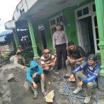 Satgas kemitraan Polsek Pujon Polres Batu Anjangsana Ke Warga