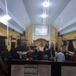 Kapolsek Junrejo Polres Batu Bersama Anggota Lakukan Pengamanan Kegiatan Ibadah