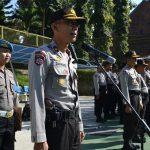 Apel Bersama TNI dan Elemen Masyarakat Di Polres Batu
