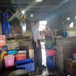 Satgas Kemitraan Polsek Batu Polres Batu Sambang karyawan Pabrik Tahu