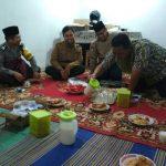Bhabin desa Pendem Polsek Junrejo Polres Batu bersama 3 pilar hadiri Safari Ramadhan didesa binaannya.