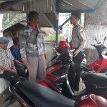 Bhabin Dadaprejo Polsek Junrejo Polres Batu Laksanakan sambangi pada tukang Ojek Bersujati.