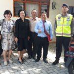 Pengamanan Giat Kebaktian Gereja Polsek Junrejo Polres Batu, Antisipasi Hal Yang Tidak Diinginkan