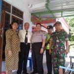 Sinergitas Polres Batu Dan TNI dalam pengamanan tempat Ibadah di wilayah Kasembon