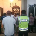 Polsek Pujon Polres Batu Giat Memakmurkan Masjid Baiturrohman Desa Pandesari