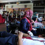 Peringati Hari Bhayangkara ke – 72, Polres Batu Gelar Bakti Sosial Donor Darah