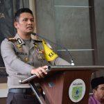 Tingkatkan Sinergitas Cegah Radikalisme, Kapolres Batu Menjadi Narasumber Dalam Silaturahmi Muspika Junrejo