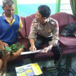 Bhabin kel Dadaprejo Polsek Junrejo Polres Batu melaksanakan sambang tokoh masyarakat.