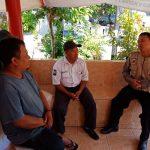Peningkatan Pam Swakarsa Bhabin Satgas kemitraan Polsek Batu Rutin Sambang Satuan Pengamanan