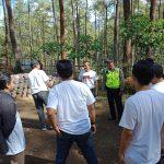 Bhabinkamtibmas melaksanakan giat tatap muka dan koordinasi dengan seluruh anggota pps desa