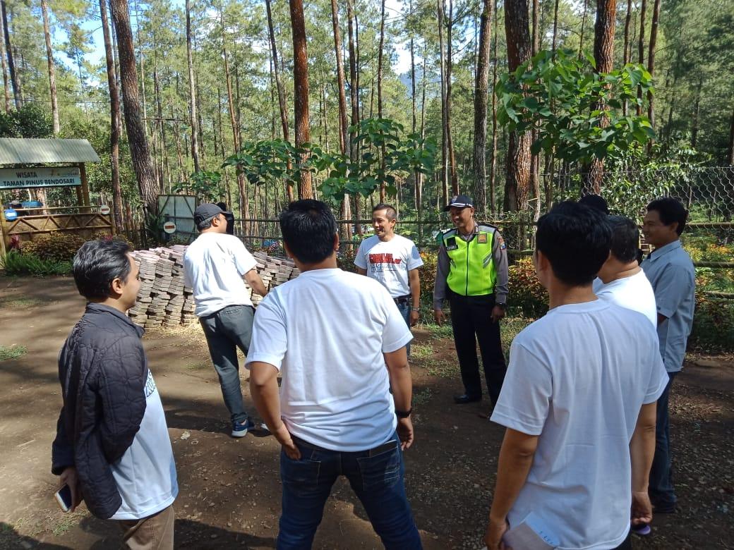 Bhabinkamtibmas Polsek Pujon Polres Batu Melaksanakan Tatap Muka Dengan PPS Terkait Persiapan Pilgub 2018
