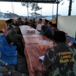 Bhabin Polsek Pujon Polres Batu Buka Bersama Dan Binluh Ke Linmas Desa Pujonlor
