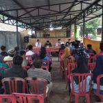 Bhabin Polsek Pujon Polres Batu Menghadiri Buka Bersama Dan Pembentukan Bumdes Pujonlor