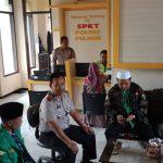 Ansor dan Banser Kunjungi Mapolsek Pujon Polres Batu Dalam Rangka Silaturrahmi